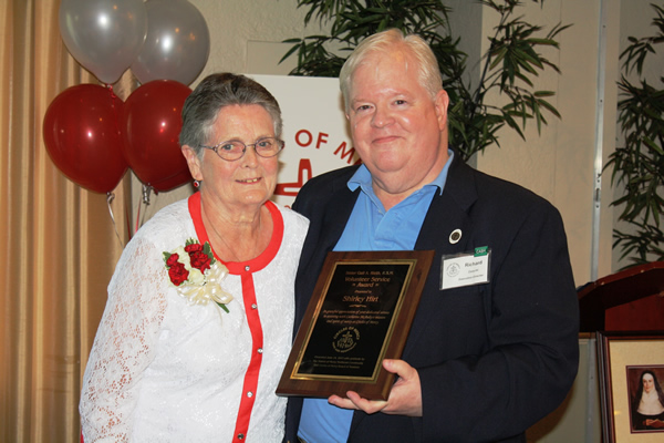 2017 Circles of Mercy Honors Local Senior Volunteer with Award