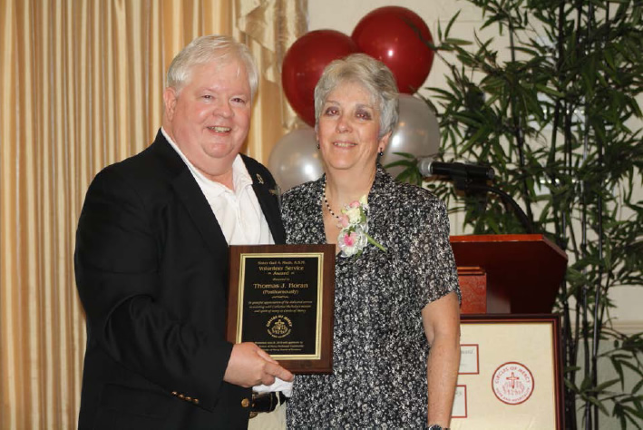 2016 Circles of Mercy Posthumously Honors Local Volunteer with Award